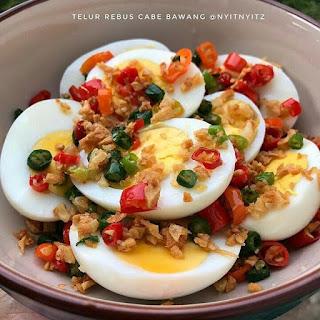 Ide Resep Masak Telur Rebus Cabe Bawang