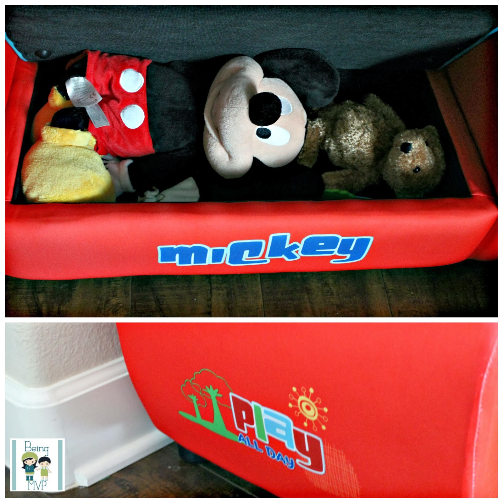 Mickey Mouse Sofa Como Habitat Being Mvp Upholstered For Tiny Tots To