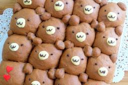 Chocolate Teddy Bear Pull-Apart Bread
