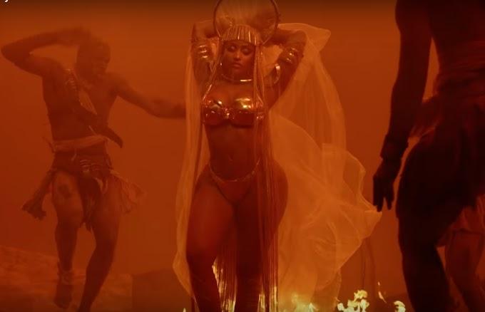 """Nicki Minaj lança clipe para faixa """"Ganja Burn"""". Vem ver!"""