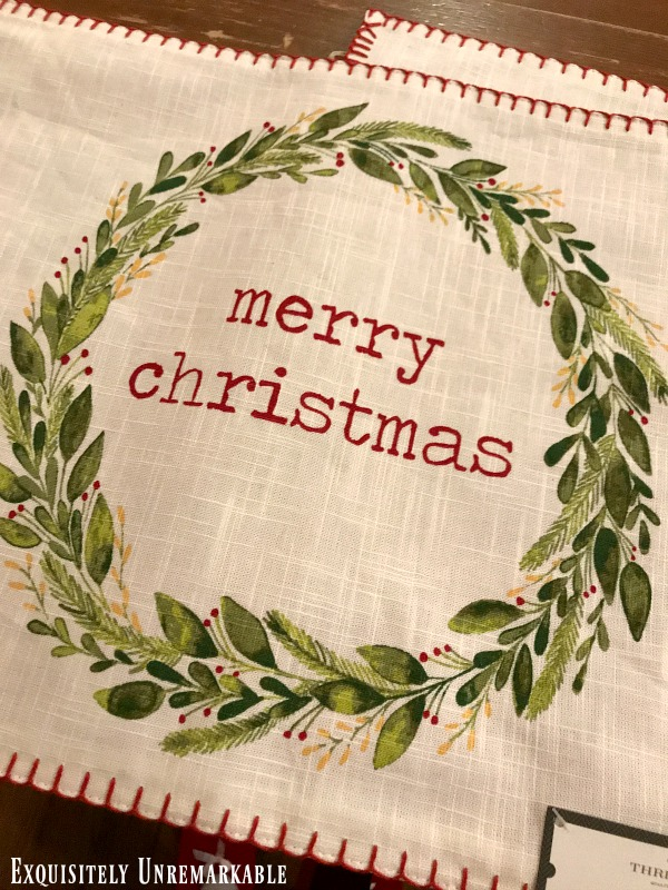 Merry Christmas Placemats