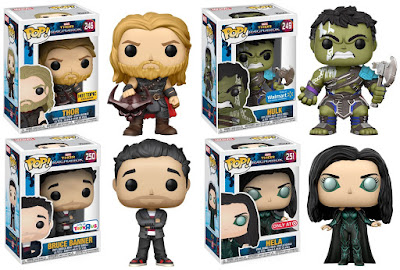 Thor: Ragnarok Retailer Exclusive Pop! Marvel Vinyl Figures by Funko