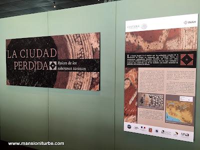 La Ciudad Perdida, Raíces de los Soberanos Tarascos en el Museo Nacional de Antropología e Historia