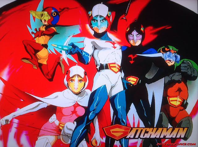 Foto dan Video Gatchaman