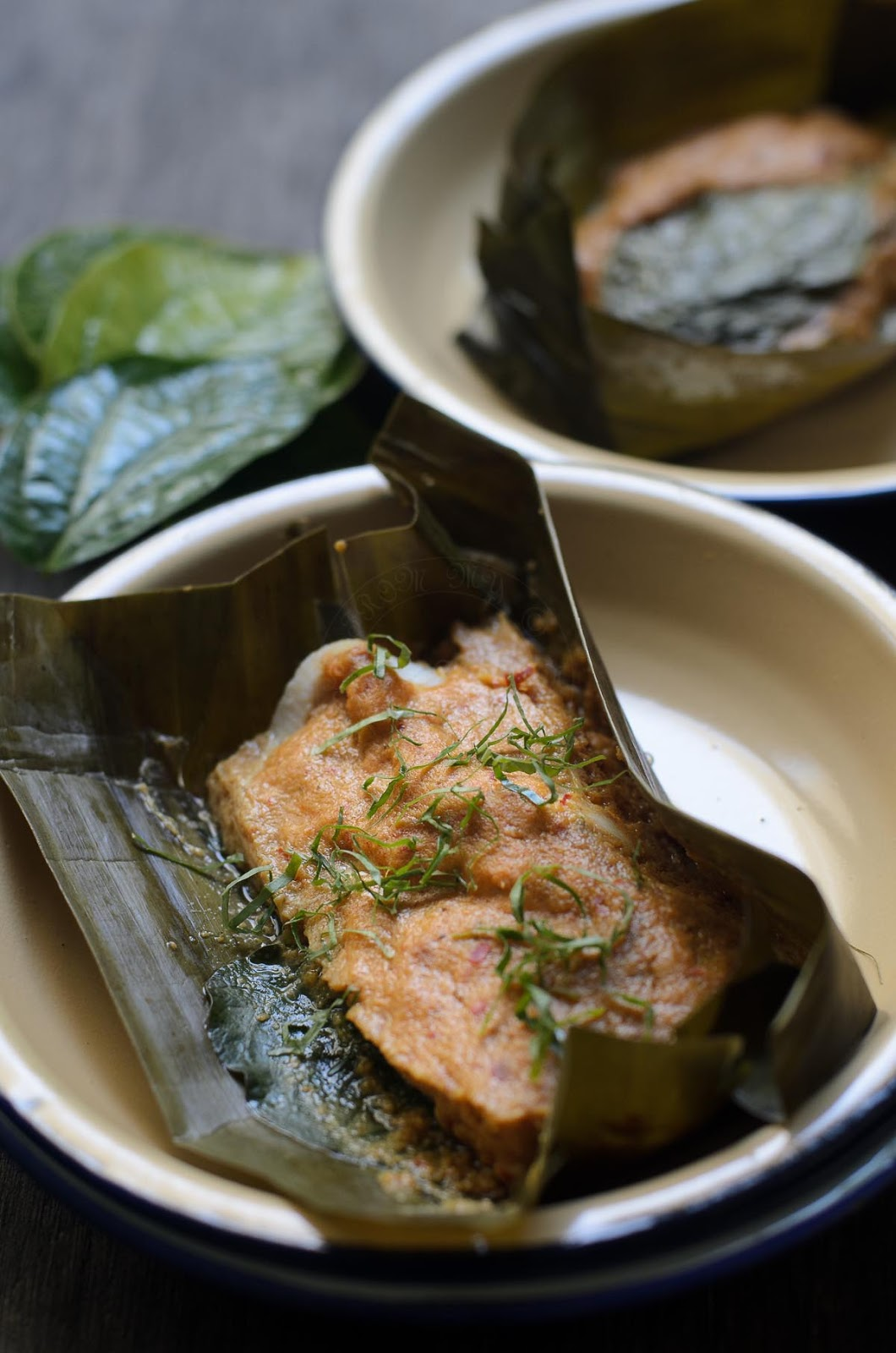 Otak-Otak /Spicy Fish Parcels