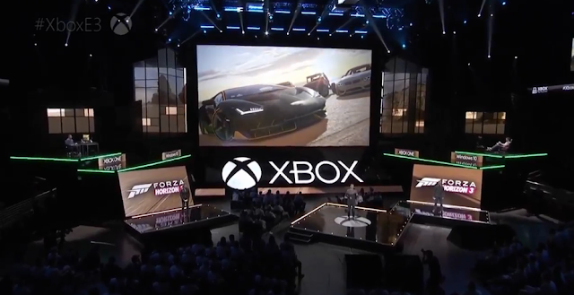 Forza Horizon 3 Microsoft E3 2016 stage demo co-op multiplayer