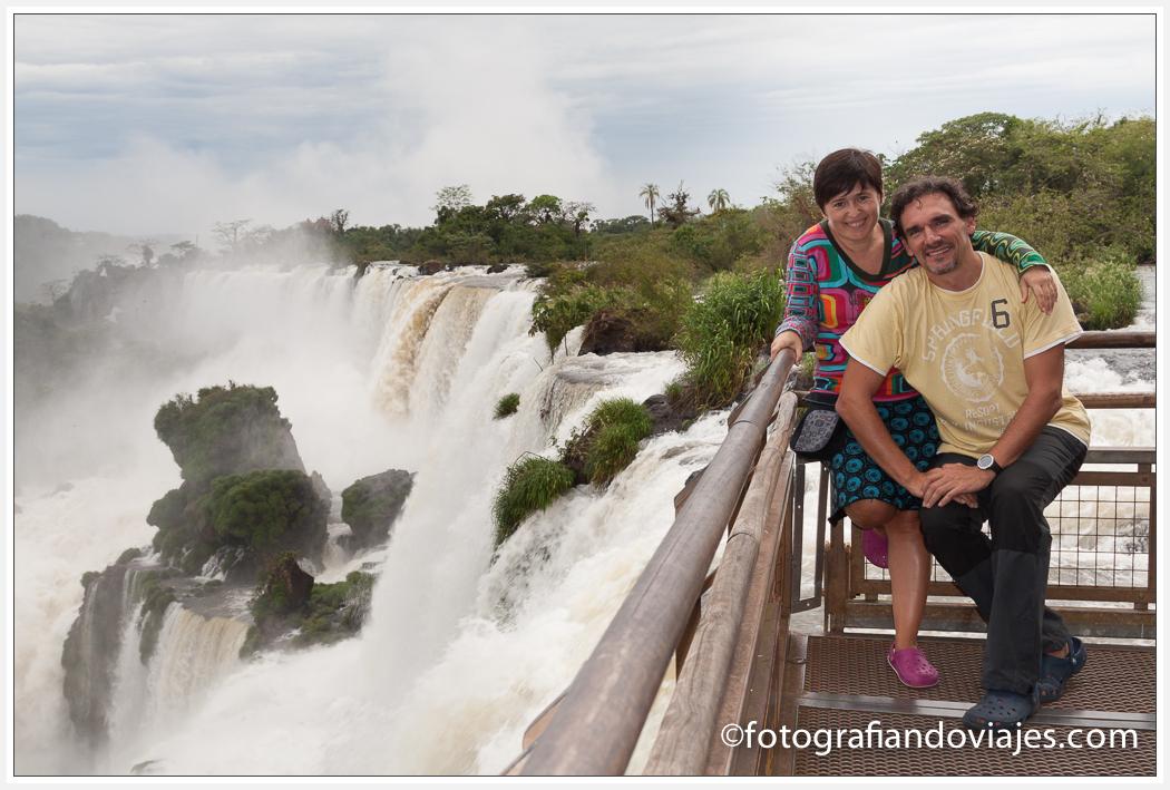 Cataratas Iguazu lado argentino circuito superior