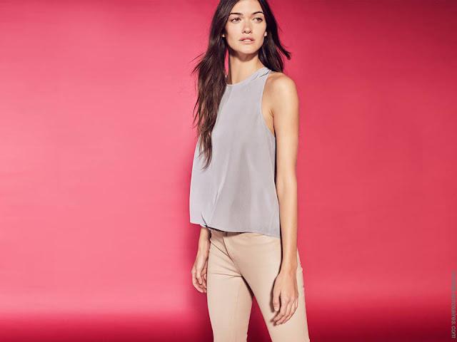 Tops de moda mujer primavera verano 2018. Moda mujer verano 2018.