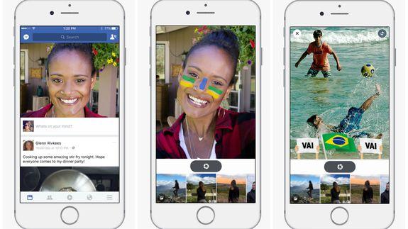 Facebook Selfie Camera