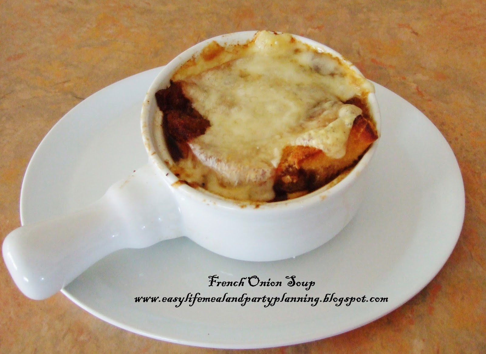 French Onion Soup by Easy Life Meal and Party Planning