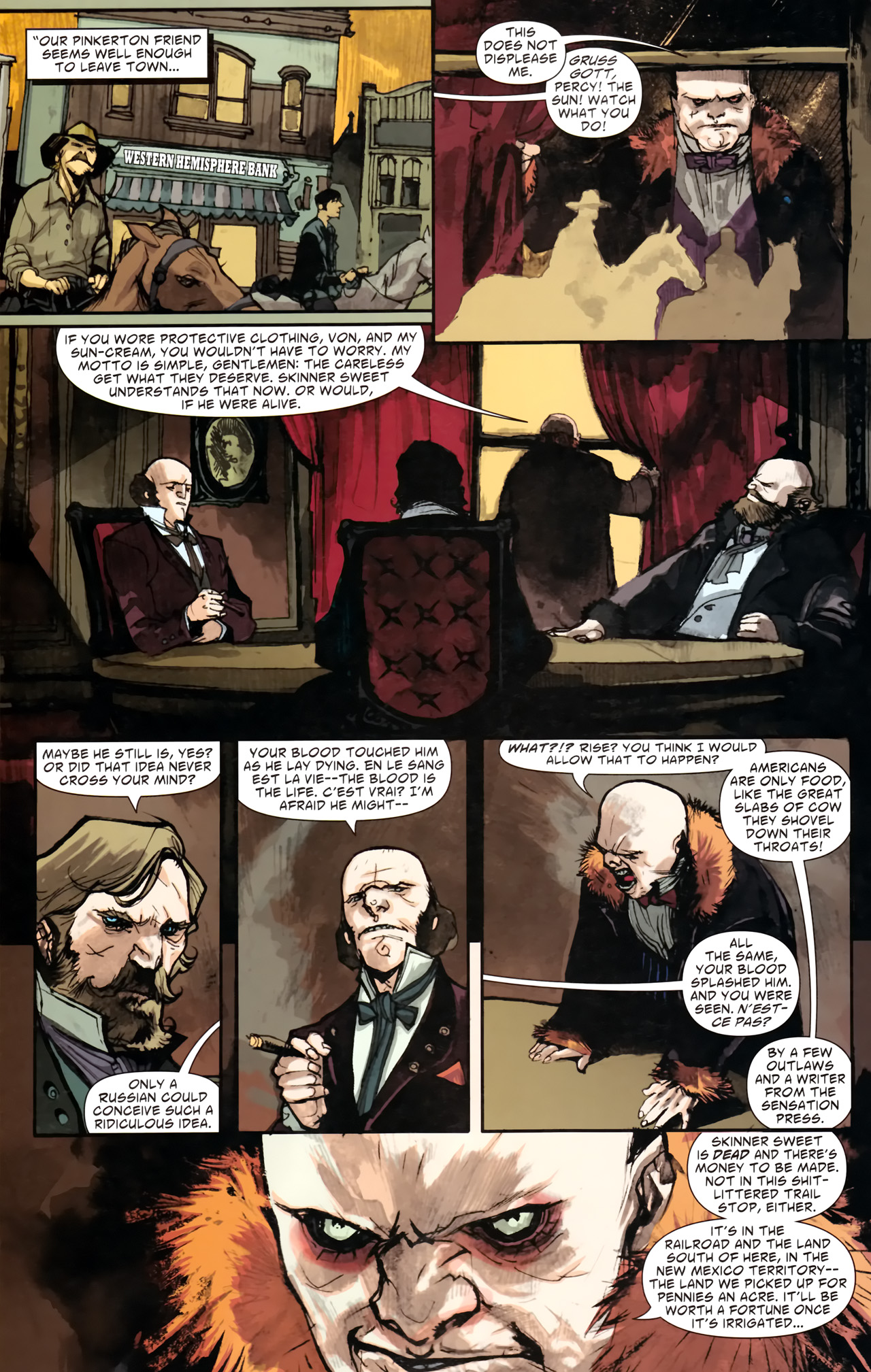 Read online American Vampire comic -  Issue #2 - 23