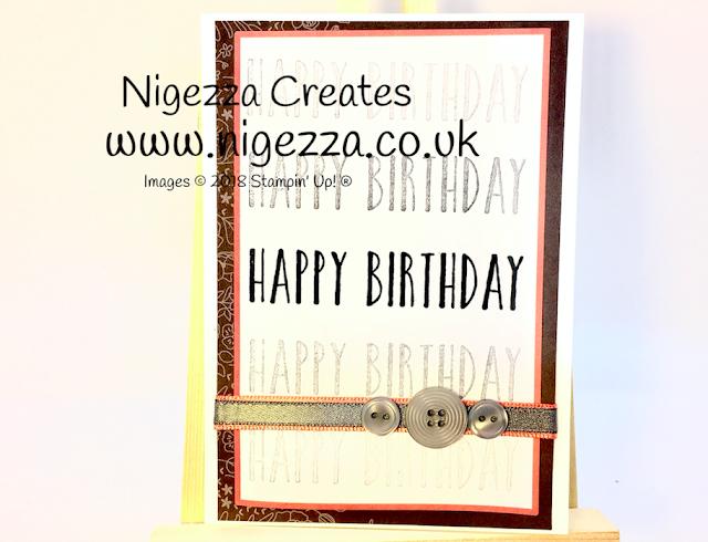 Sweet Soiree Memories & More card