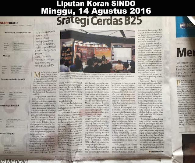 Liputan Koran Sindo 14 Agustus 2016