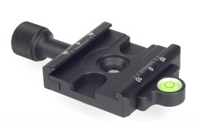 Sunwayfoto DDC-50L QR Clamp overview