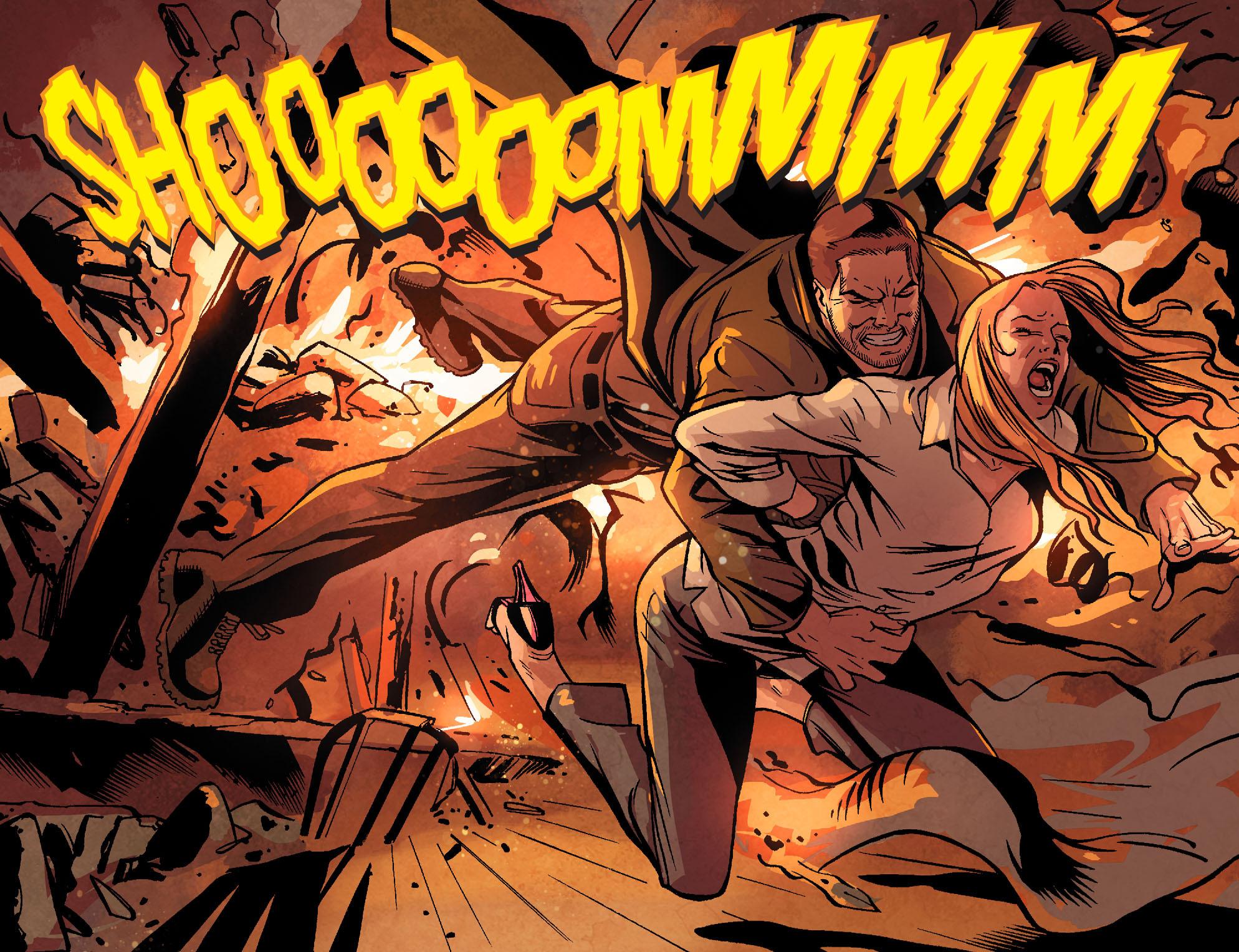 Read online Arrow: Season 2.5 [I] comic -  Issue #22 - 9