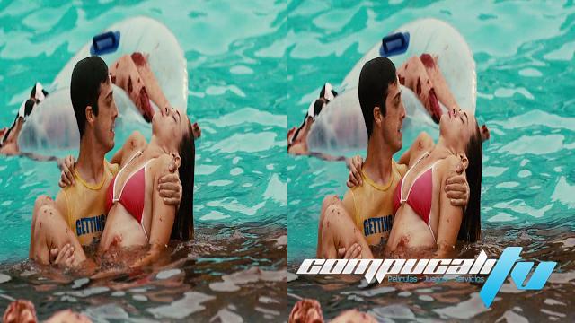 Piranha 2 3d sbs latino for Orgia en la piscina