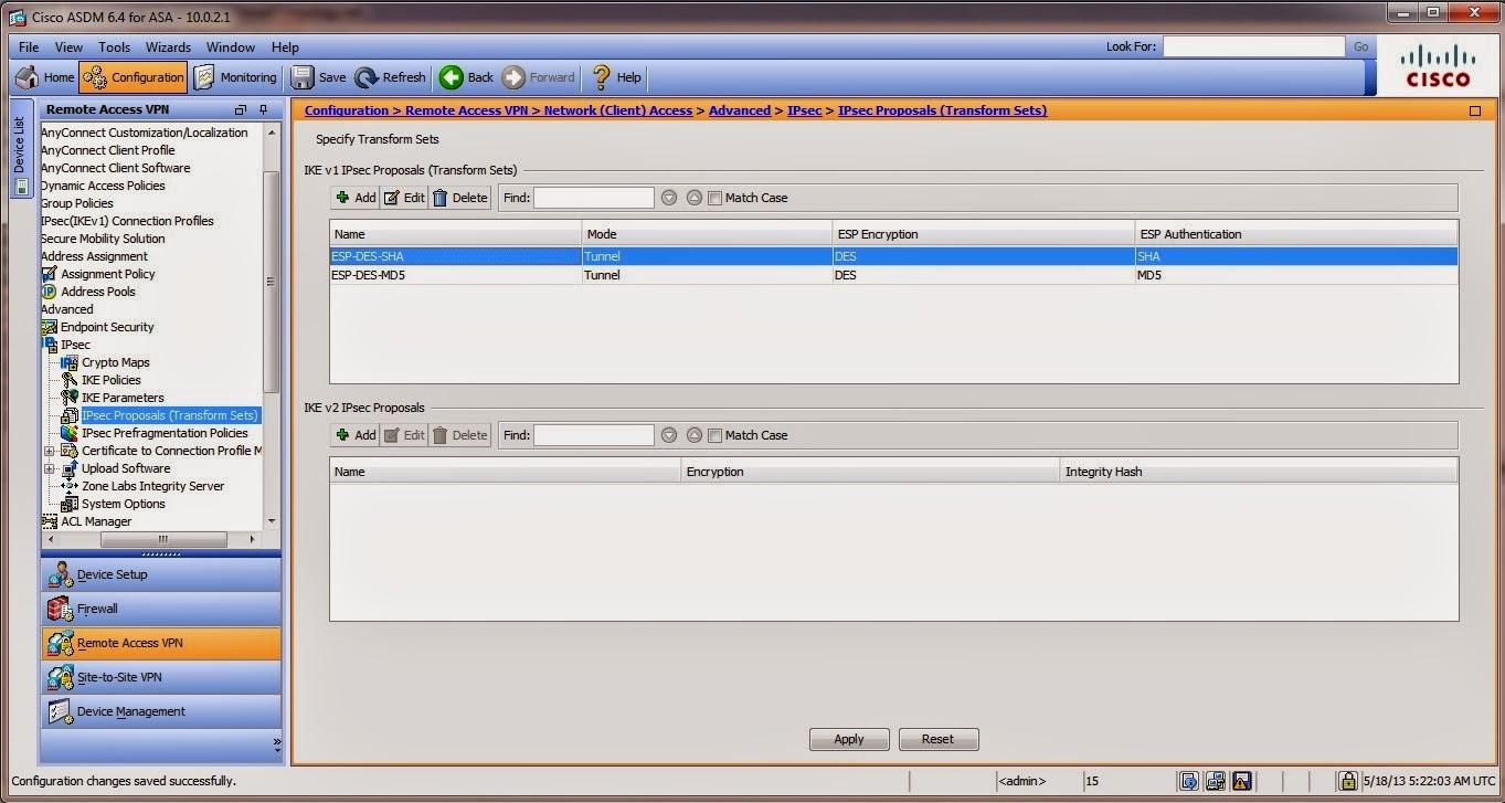 Access Vpn: Ipsec Remote Access Vpn