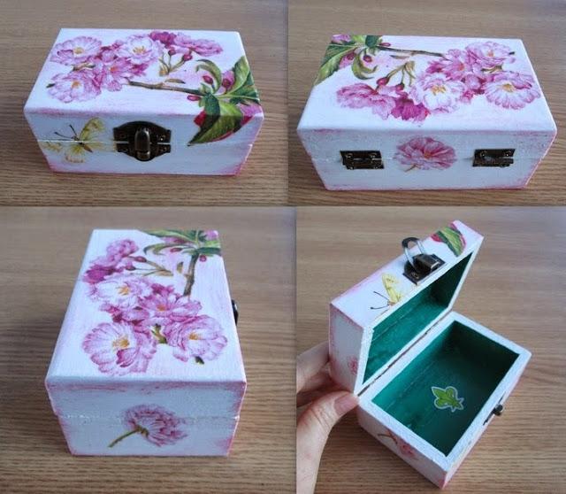 cutiuta din lemn pentru bijuterii