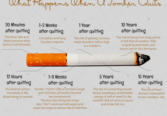 this is what happens t your body when you stop smoking