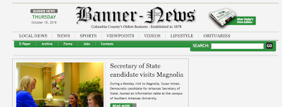 screencap of the Magnolia Banner-News