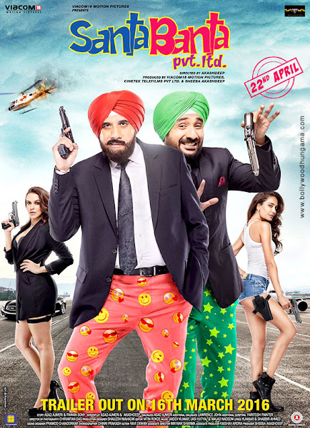 Santa Banta Pvt Ltd (2016) Movie Poster