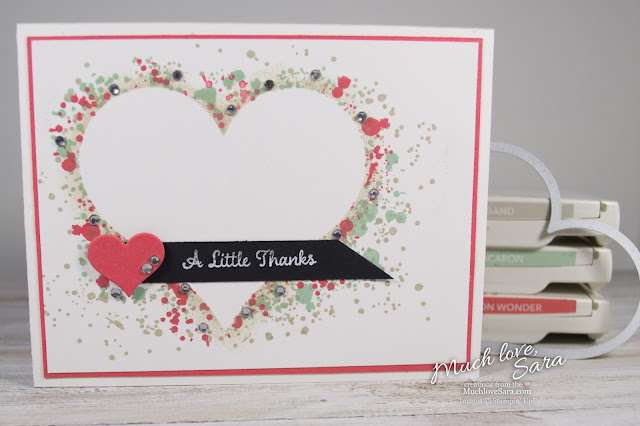 Handmade Thank You Card | Made Using Stampin' Up Stamps, Dies, and Paper