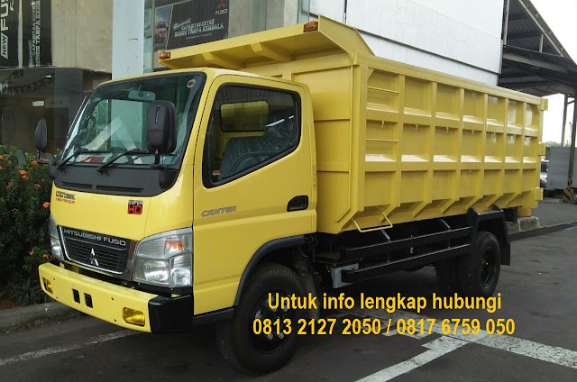 kredit dp ringan dump truck mitsubishi canter 2019