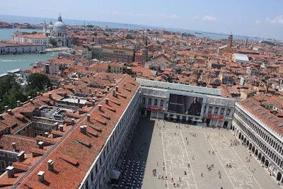 Piazza San Marco from the Campanile in Venezia
