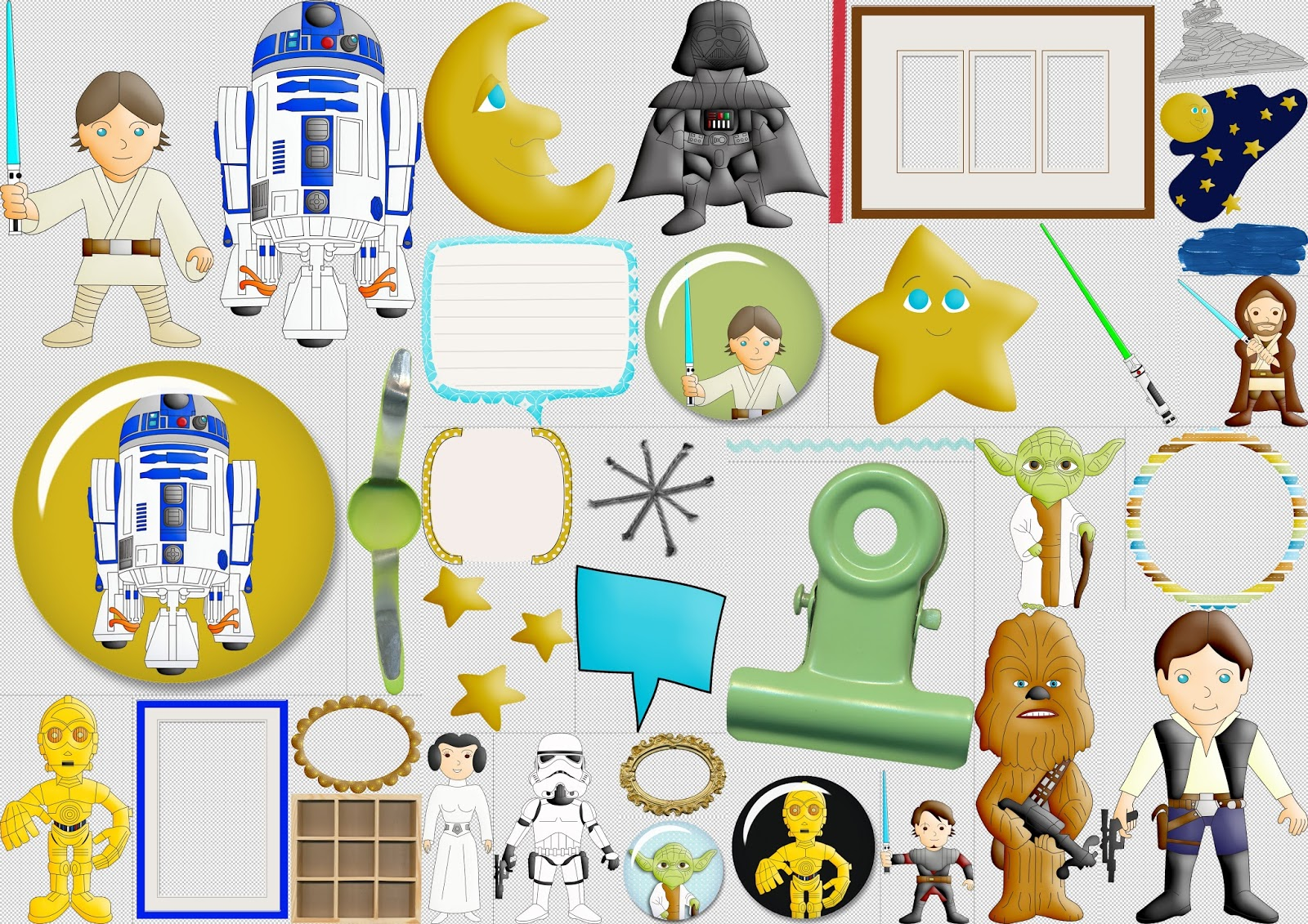 Star Wars Scrapbook Free Printable Kit Oh My Fiesta