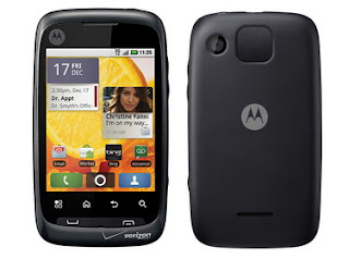 Motorola CITRUS for Verizon unveiled