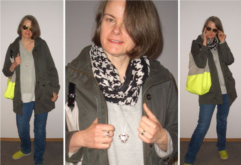Parka in Olive - Styling Idee mit der Trendfarbe