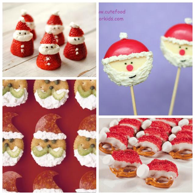 Learn With Play At Home: Santa Snacks. Fun Christmas Food