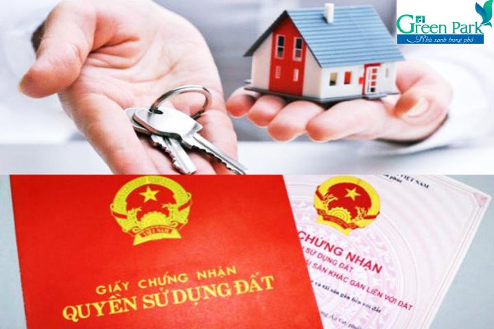 Sổ hồng chung cư PD Green Park Trần Thủ Độ