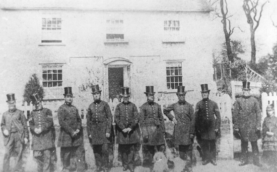 Photograph of Hatfield Police Force