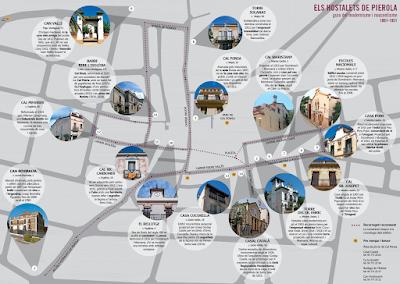 Els Hostalets de Pierola. Ruta modernista i noucentista
