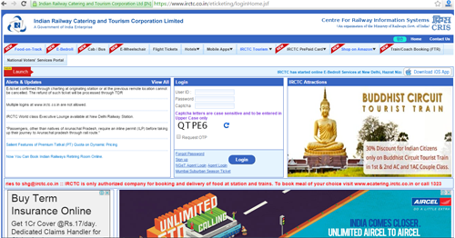 IRCTC New Ticket Booking Rules 2016