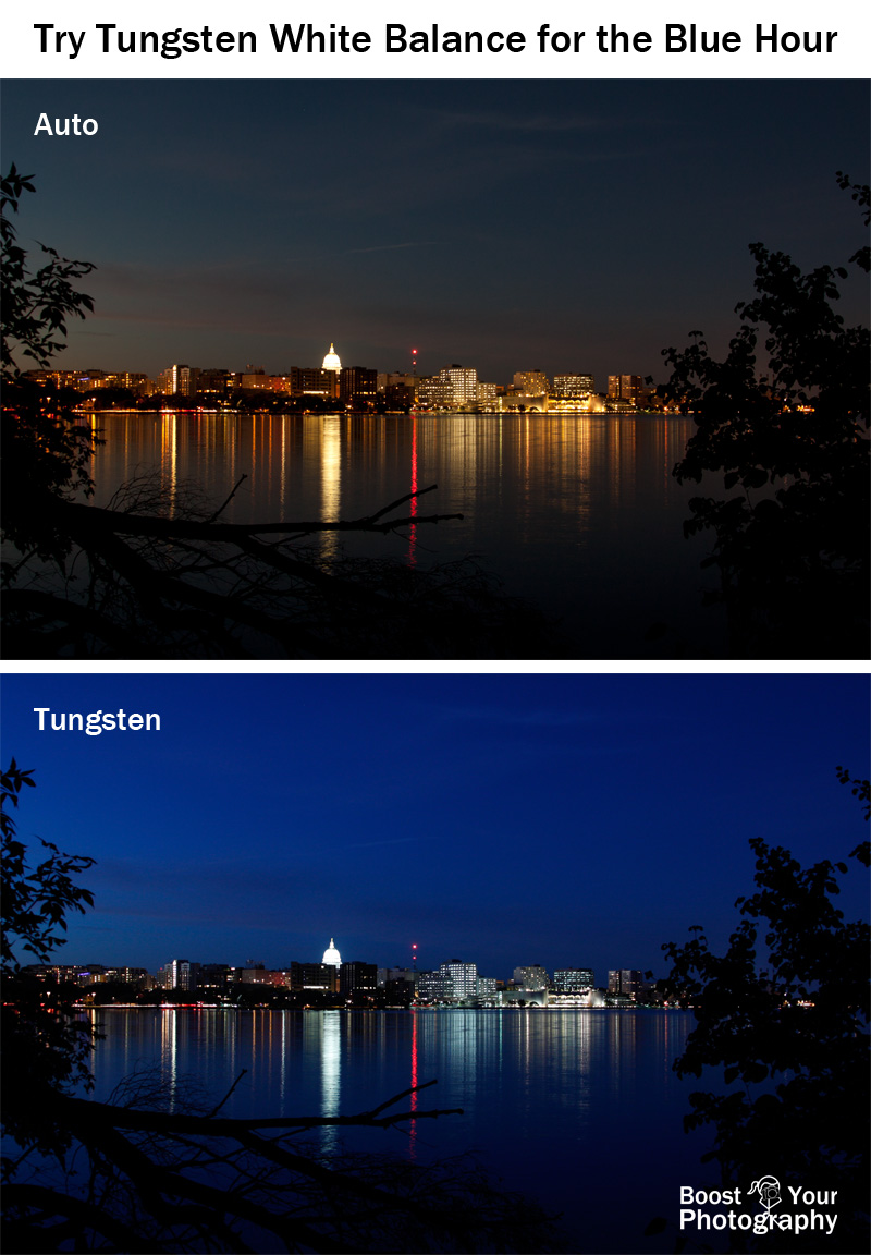 Try Tungsten White Balance for the Blue Hour | Boost Your Photography
