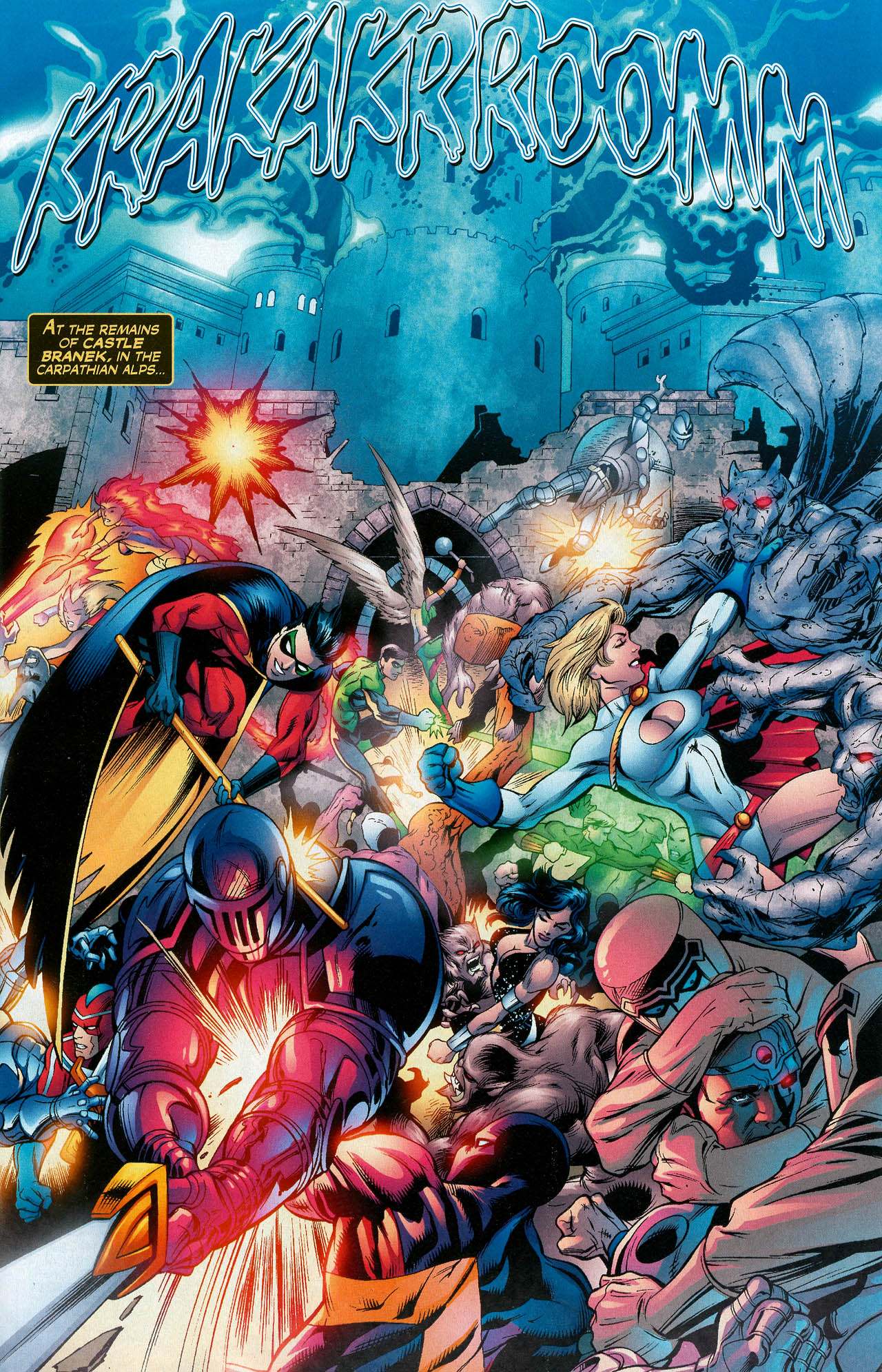 Read online Trinity (2008) comic -  Issue #16 - 3