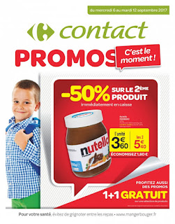 Catalogue Carrefour Contact 6 au 12 Septembre, 2017