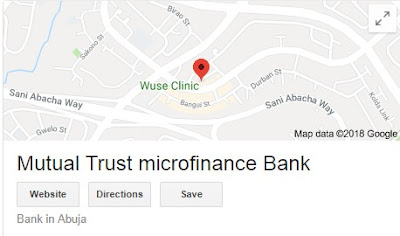 Mutual Trust Microfinance Bank Recruitment Login 2018/2019   Latest Job Vacancy Online