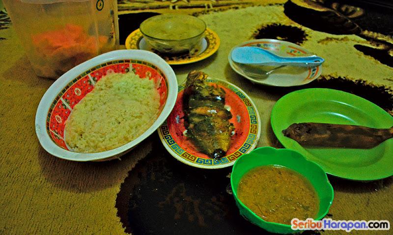 hidangan makanan paket wisata pulau harapan