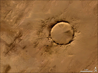 Tenoumer crater