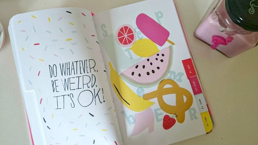 Positivity, wellness, motivation, Ban.do, fun stationery, The Style Guide Blog