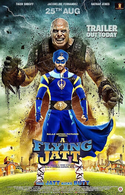Download Film A Flying Jatt (2016) Bluray Subtitle Indonesia