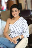Avantika Mishra in One Shoulder Crop Top and Denim Jeggings ~  Exclusive 078.JPG