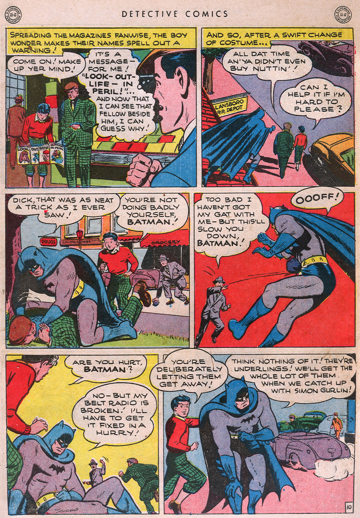 Read online Detective Comics (1937) comic -  Issue #105 - 12