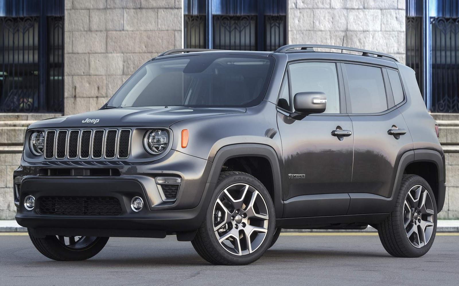 Jeep Renegade 2019 Facelift Chega Ao Brasil Em Outubro Revenda