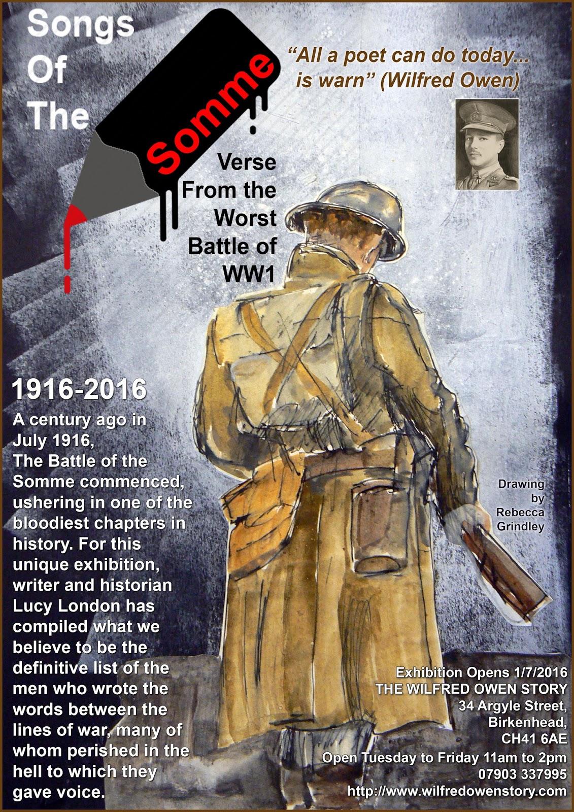 Forgotten Poets Of The First World War June 2016