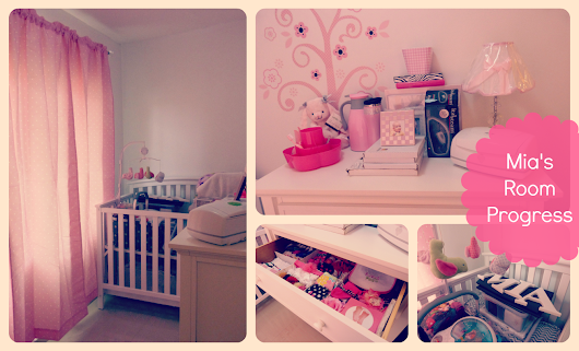Mia's Room/Nursery Progress Report
