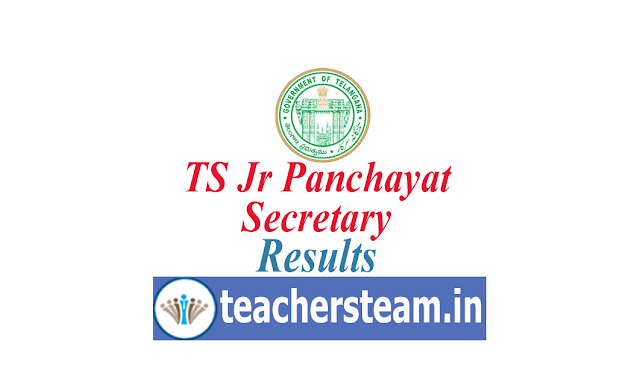 Download Results of Telangana Jr Panchayat Secretary